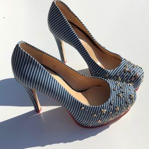 Gianni Bini Stars and Stripes heels